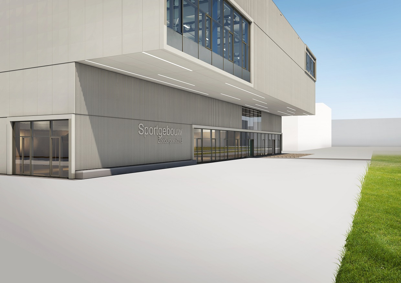 Directievoering nieuwbouw Sportgebouw Zeeburgereiland