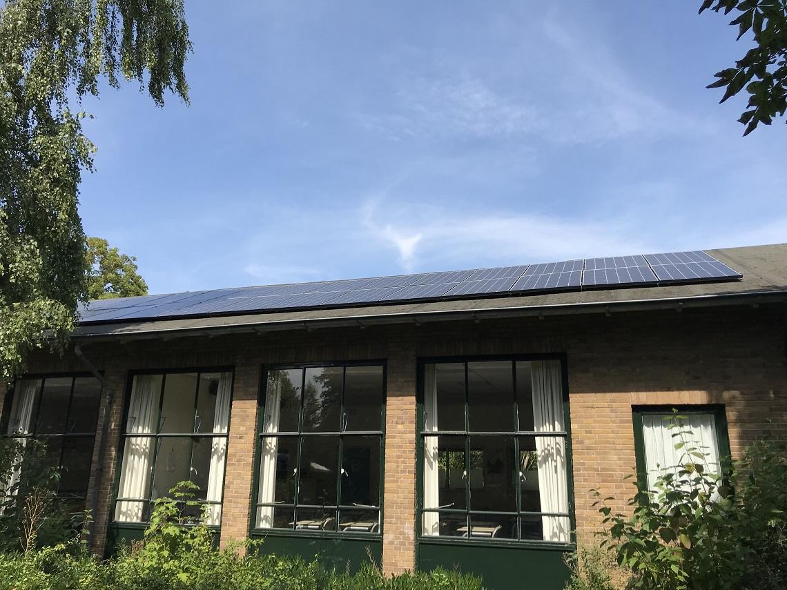 Projectbegeleiding bij het plaatsen van een PV installatie bij Teylingen College Duinzigt Oegstgeest