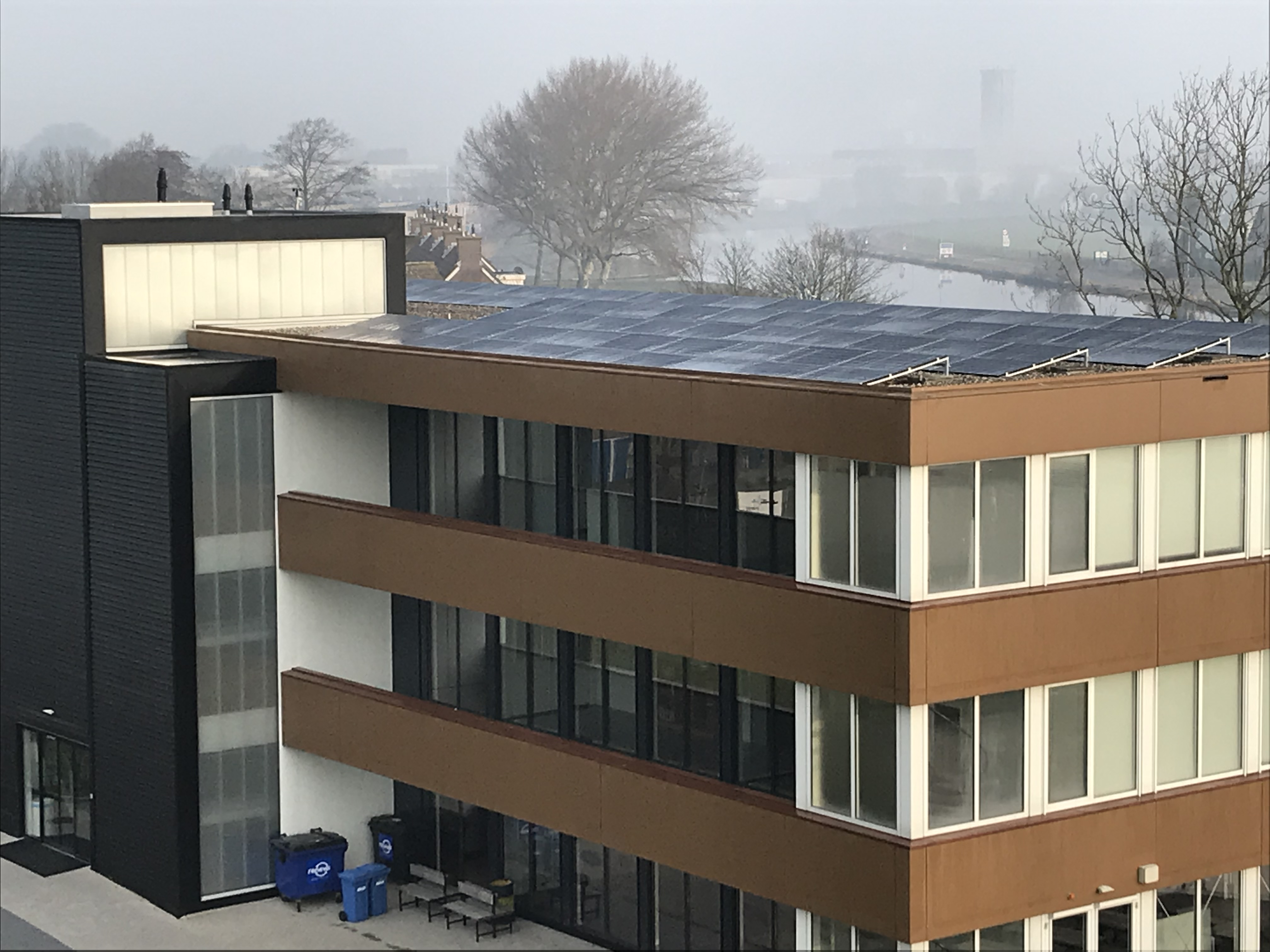 Zonnestroominstallatie Fioretti College Lisse