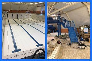 Groot Onderhoud Zwembad de Wasbeek te Sassenheim
