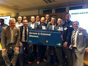 Een van de winnaars Energiechallenge Woonstad Rotterdam